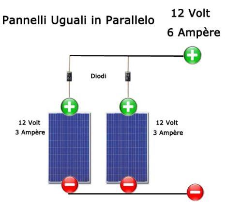 collegamento-pannelli-fotovoltaici-uguali-in-parallelo